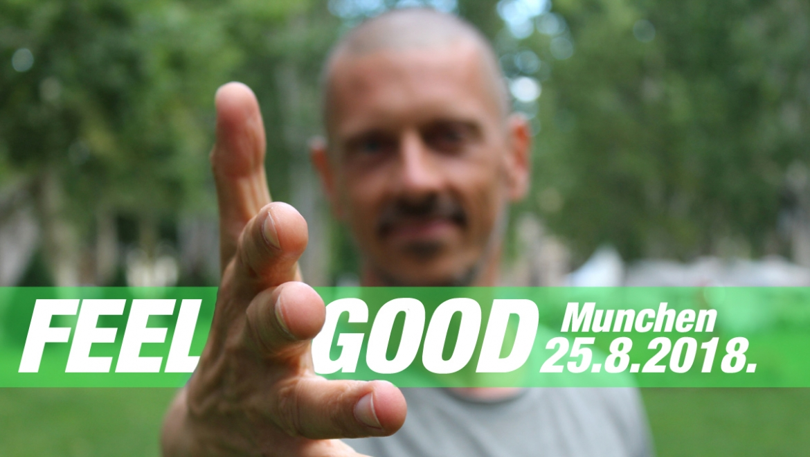 FEEL GOOD with healthy vegan lifestyle (workshop) + special IFEEL music performance!